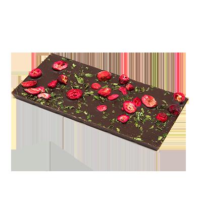 Ritonka bitter Schokolade - Minze, Preiselbeere
