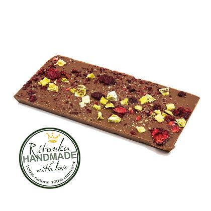 Ritonka milch Schokolade - Kirsche, Kiwi