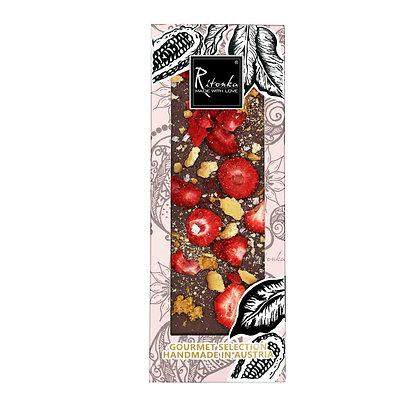 Ritonka Gourmet Selection Milchschokolade Erdbeere, Salz, Karamell, Butterkeks