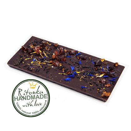 Ritonka Schokoladen - Blumentee, Kornblumen, Ringelblumenblätter