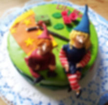 Torte Die kleine Hexe Lisbeth