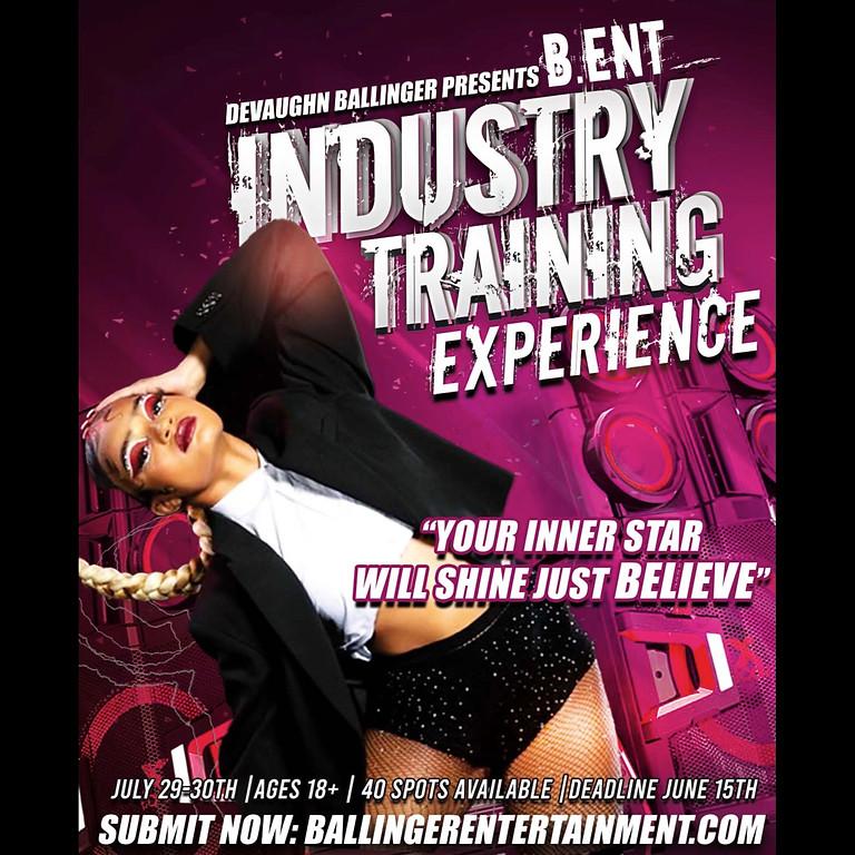 Ballinger Entertainment Industry Training Experience - Registration