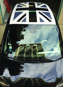 Habillage toit voiture
