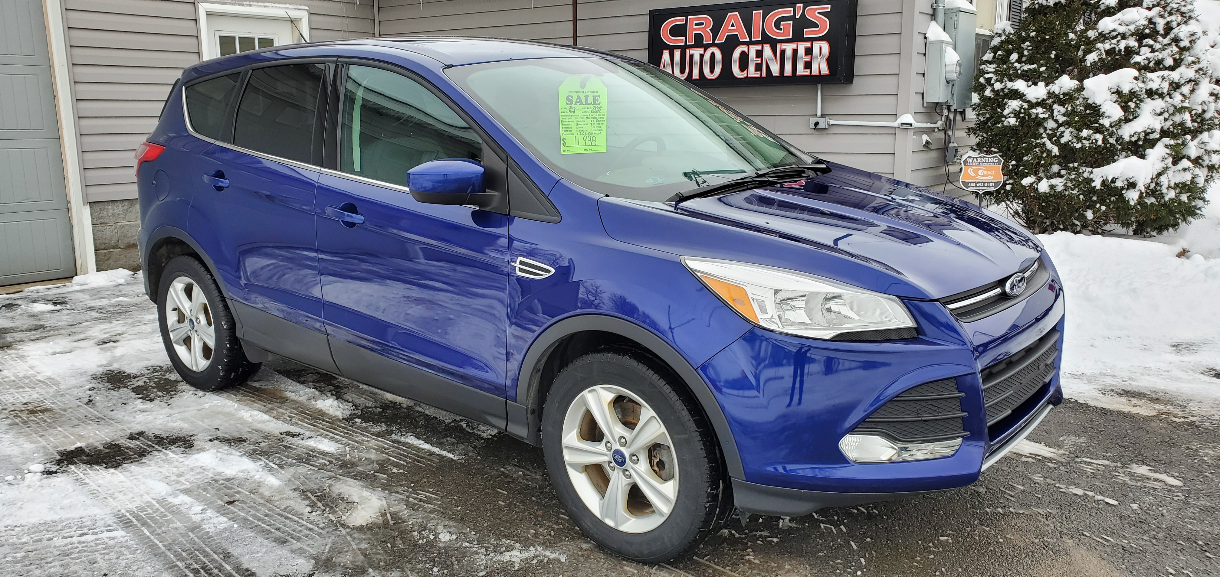 2015 Ford Escape SE awd!!