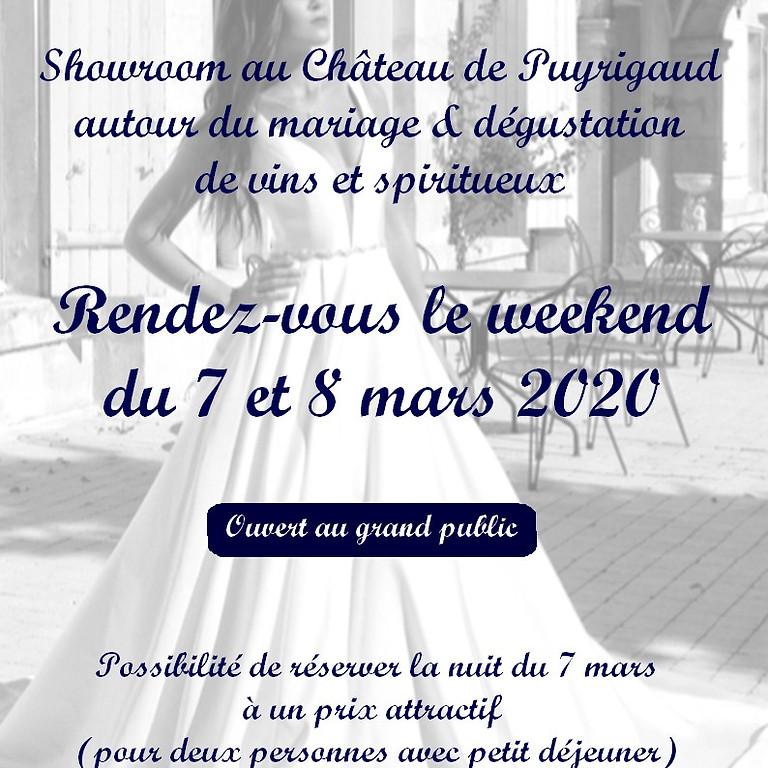Invitation showroom autour du mariage les 7 et 8 mars 2020