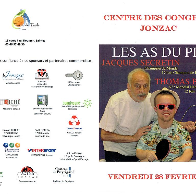 LES AS DU PING - CENTRE DES CONGRES DE HAUTE SAINTONGE