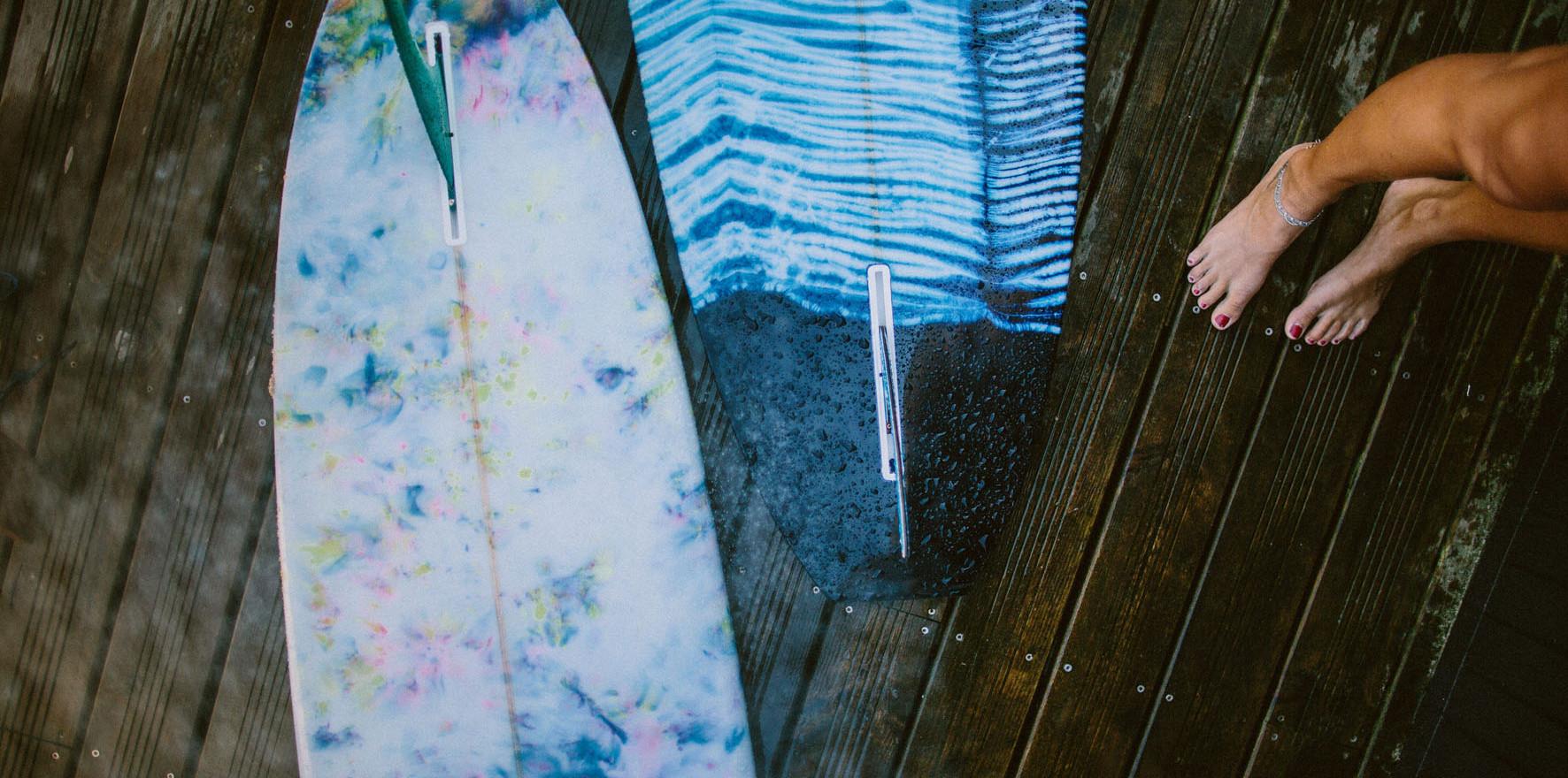 After surf / longboard lorcolorschappy / Photographie Julien Clavier