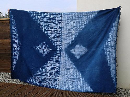 Fouta XXXL Mandala blue indigo