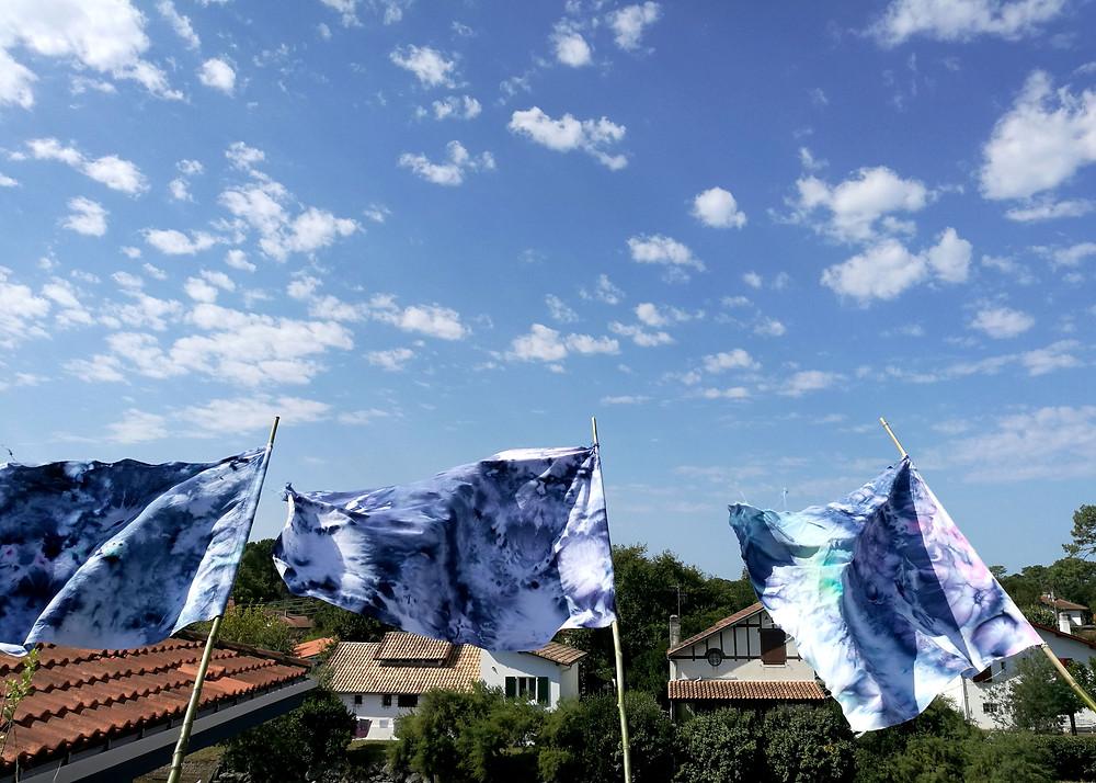 Mouvements laure marnas art textile