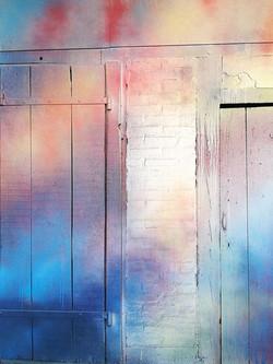 Murs peints laure marnas lorcolors galeie leonart  leon aquitaine (2)