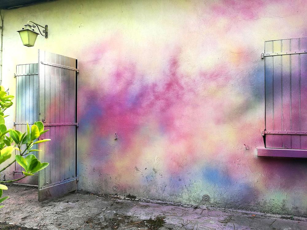 détail mur peints lorcolors Hossegor