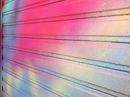 Murs peints / Restaurant le 6 à Capbreton