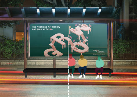 Interactive Bus Stop Campaign
