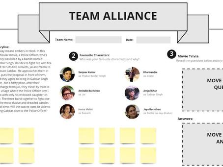 Sholay Bollywood Team Alliance Template