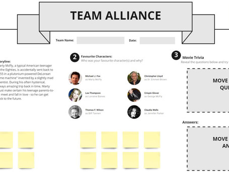 Back to the Future Team Alliance Template