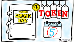 World Book Day Sketchnote