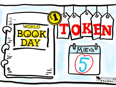 World Book Day Sketchnote