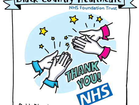Black Country Healthcare NHS Sketchnote