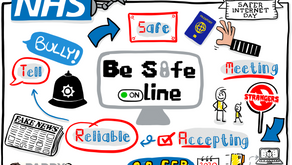 Internet Safety Sketchnote