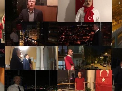 23 Nisan'da Genel Başkanlarımız İstiklal Marşımızı Okudu