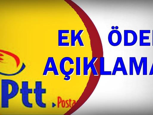 Genel Başkan Yücel KAZANCIOĞLU PTT çalışanları için gündeme dair açıklamalarda bulundu.