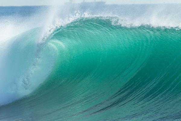 Wave Blue Crashing Detail Ocean wave cre