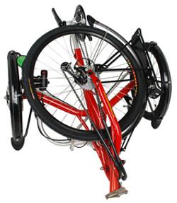 Transport fold flat 26in wheel