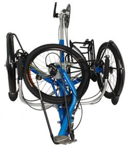 transport fold flat 20in wheel