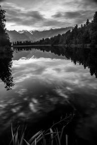 Lake Matheson Fox Glacier, New Zealand