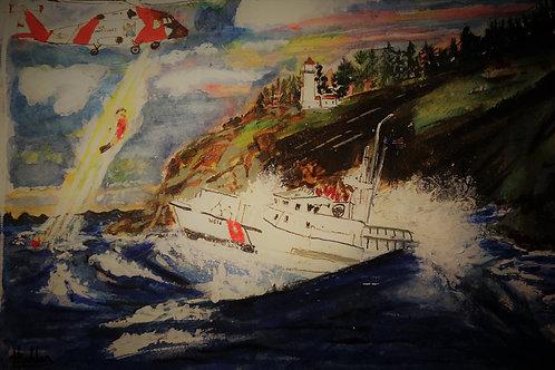 Cape Disappointment Coast Guard Rescue