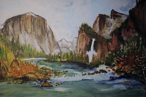 Fly Fishing Merced River Yosemite Valley