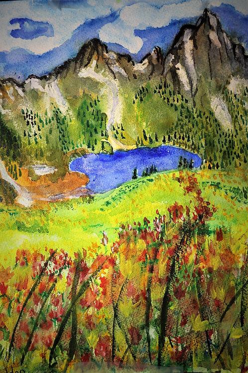 Sneffels Mountain Range