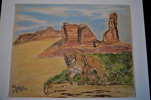 Sedona Mountain Lion