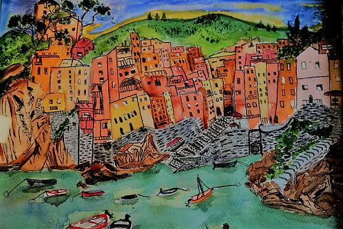 Seaside Italian Village Riomaggiore