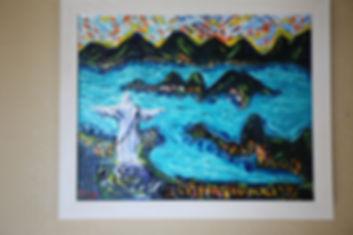 Lapis Christ Reedemer Framed1.JPG