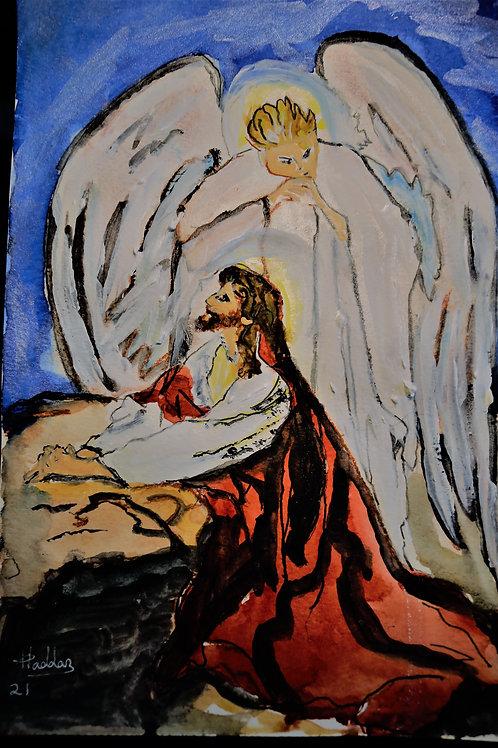Jesus at Garden of Gethsemane