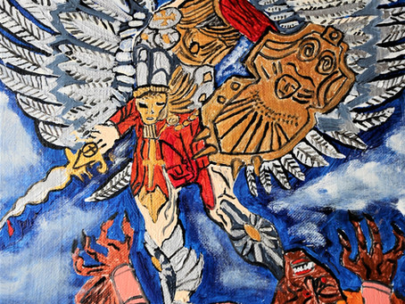 Archangel Michael Selected as Distinguished category Engage Art Contest