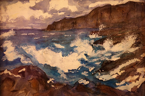Rocky Seashore Tasmania
