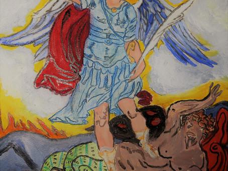 Archangel Michael Blue Prince