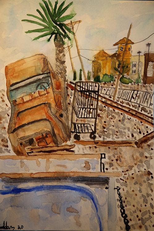 Junkyard RR Tracks