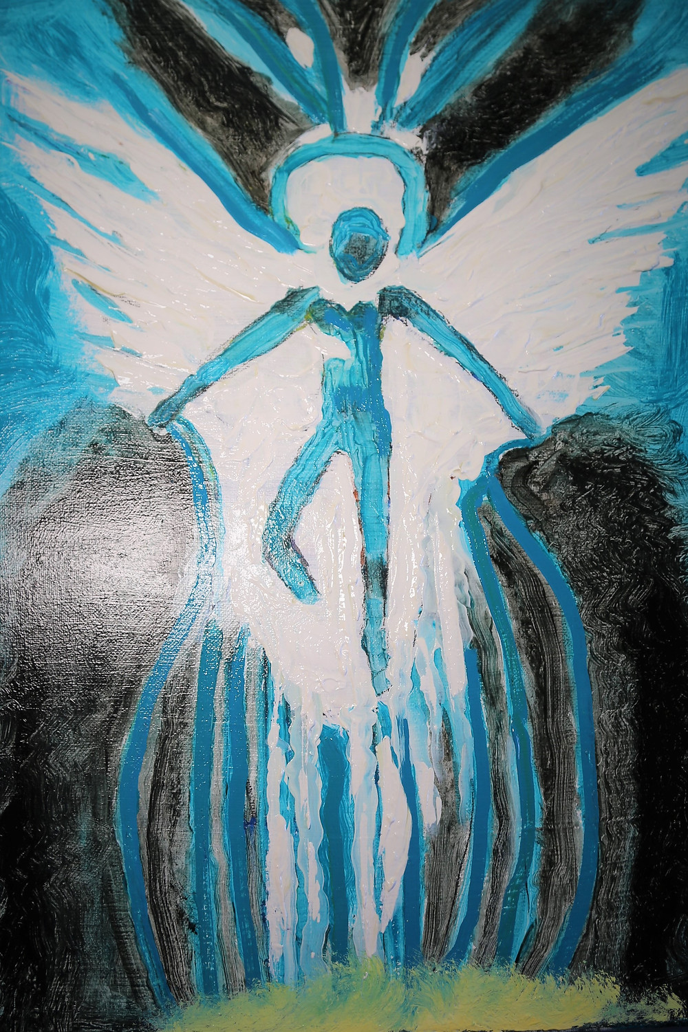 Angel image from a dream i had recently.