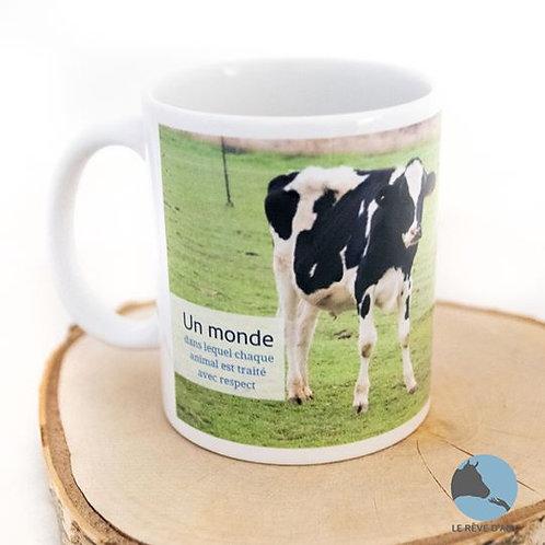 """Mug """"Un monde..."""" Guillaume"""