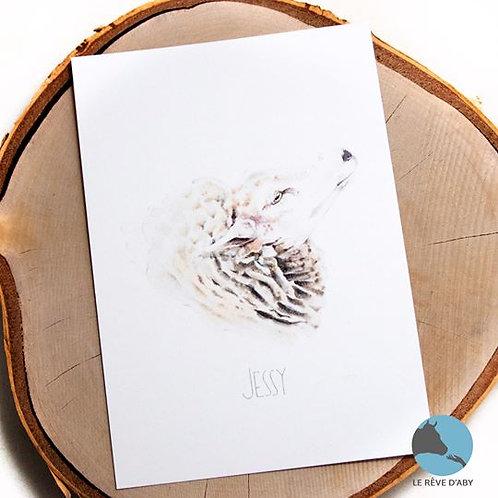 Carte A5 Jessy (by Polina)