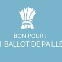 1 ballot de paille