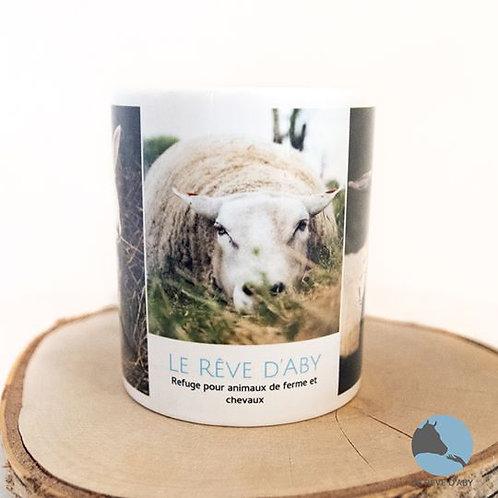Mug Le Rêve d'Aby - Moutons