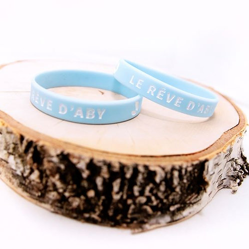 Bracelet silicone Le Rêve d'Aby
