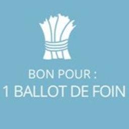 1 ballot de foin