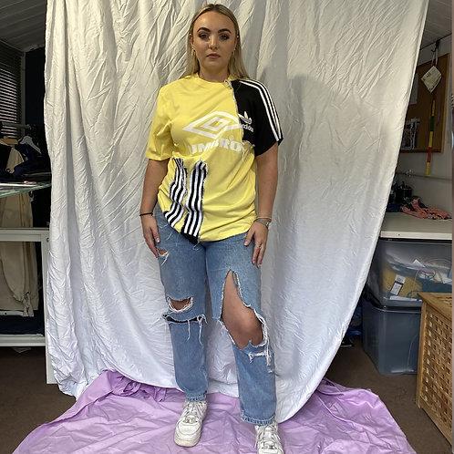 Sports brand re work t-shirt