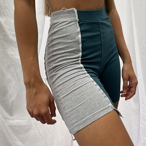 Two tone cycle shorts