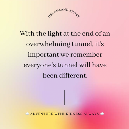 Light at the end of the #lockdown tunnel.